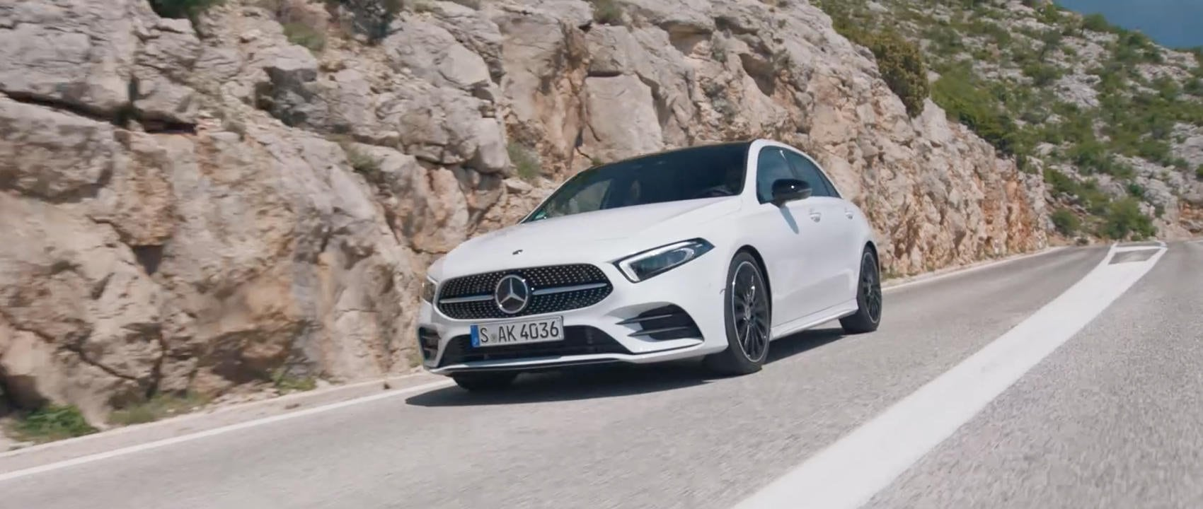 Car expert and YouTube pro MrJWW trials the driving dynamics, comfort and power of the new A-Class.