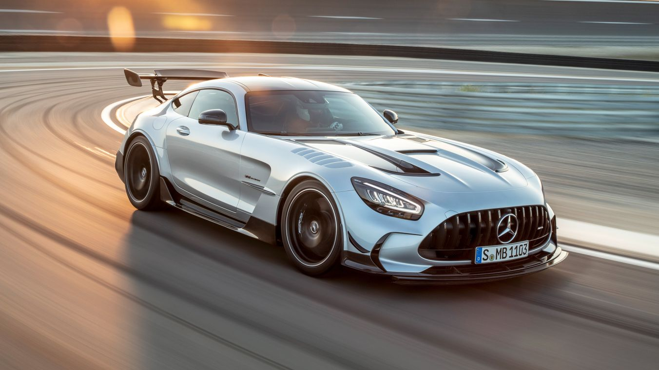 The new Mercedes-AMG GT Black Series.