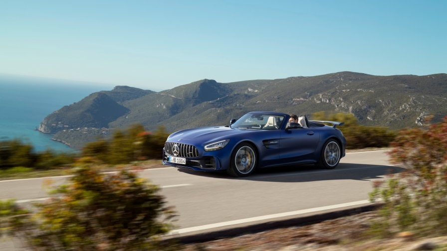 The New Mercedes Amg Gt R Roadster