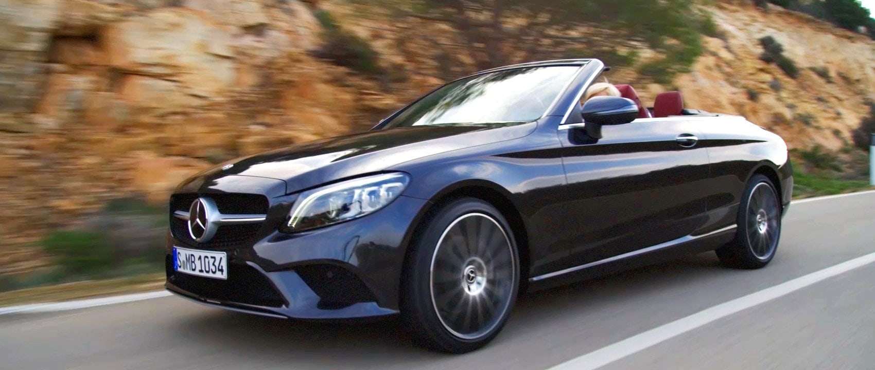 Mercedes Benz C Class Coupe And Cabriolet 2018