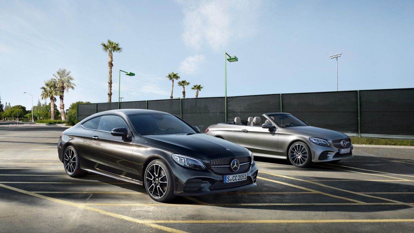 The New Mercedes Benz C Class Coupe And Cabriolet