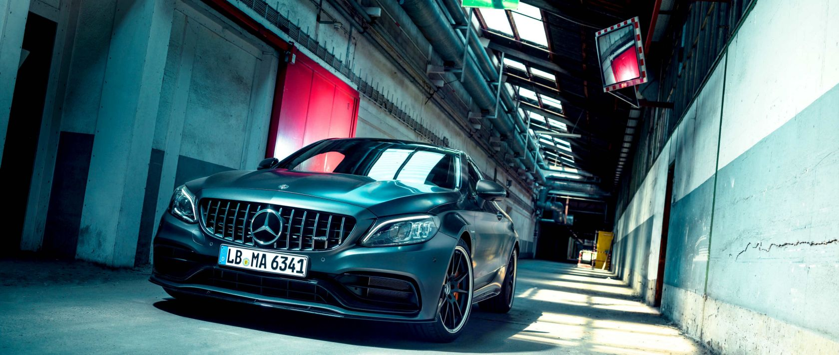 Mercedes-Benz: The front view of the Mercedes-AMG C 63 S Coupé (C 205).