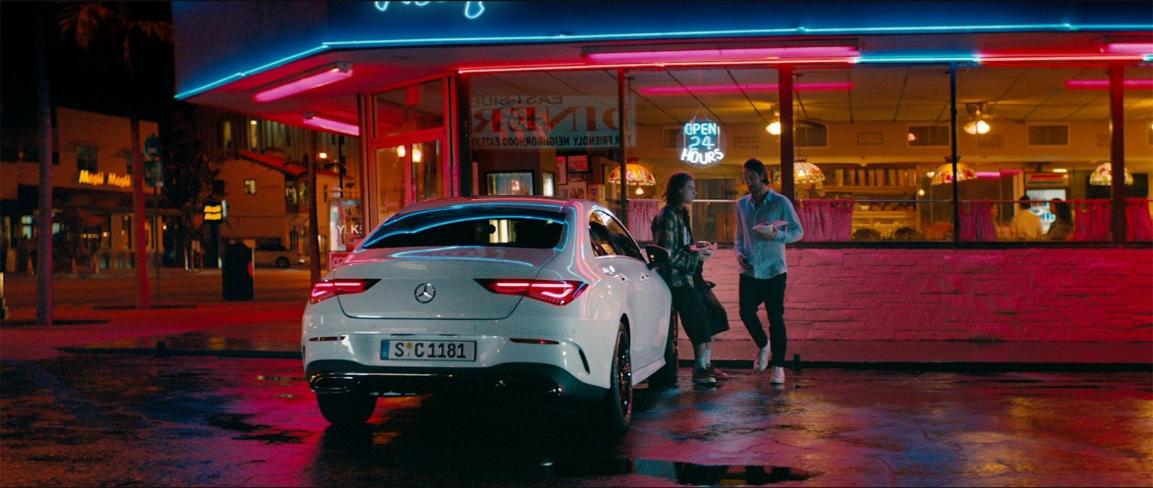 Mercedes-Benz CLA Coupé: Play by your rules