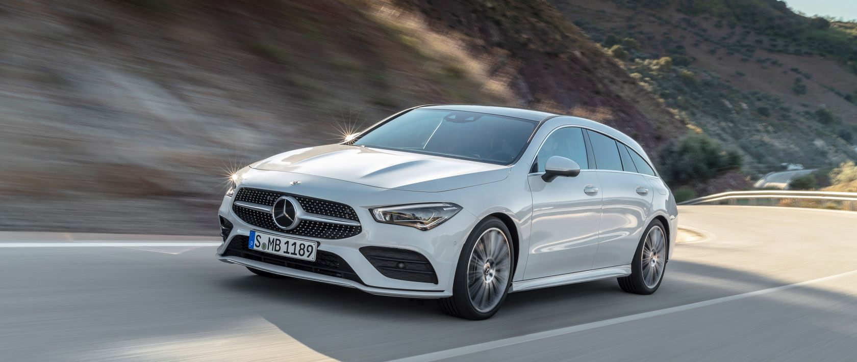 Cars That Start With S >> Start Of Production Of The Cla Shooting Brake At The Plant