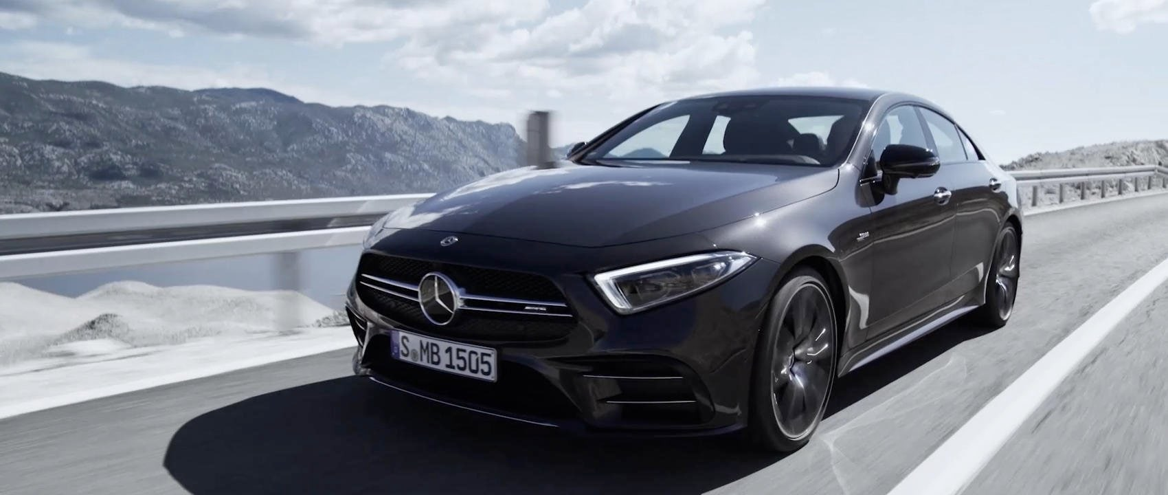 Mercedes-AMG CLS 53 4MATIC+ 2018: World Premiere.