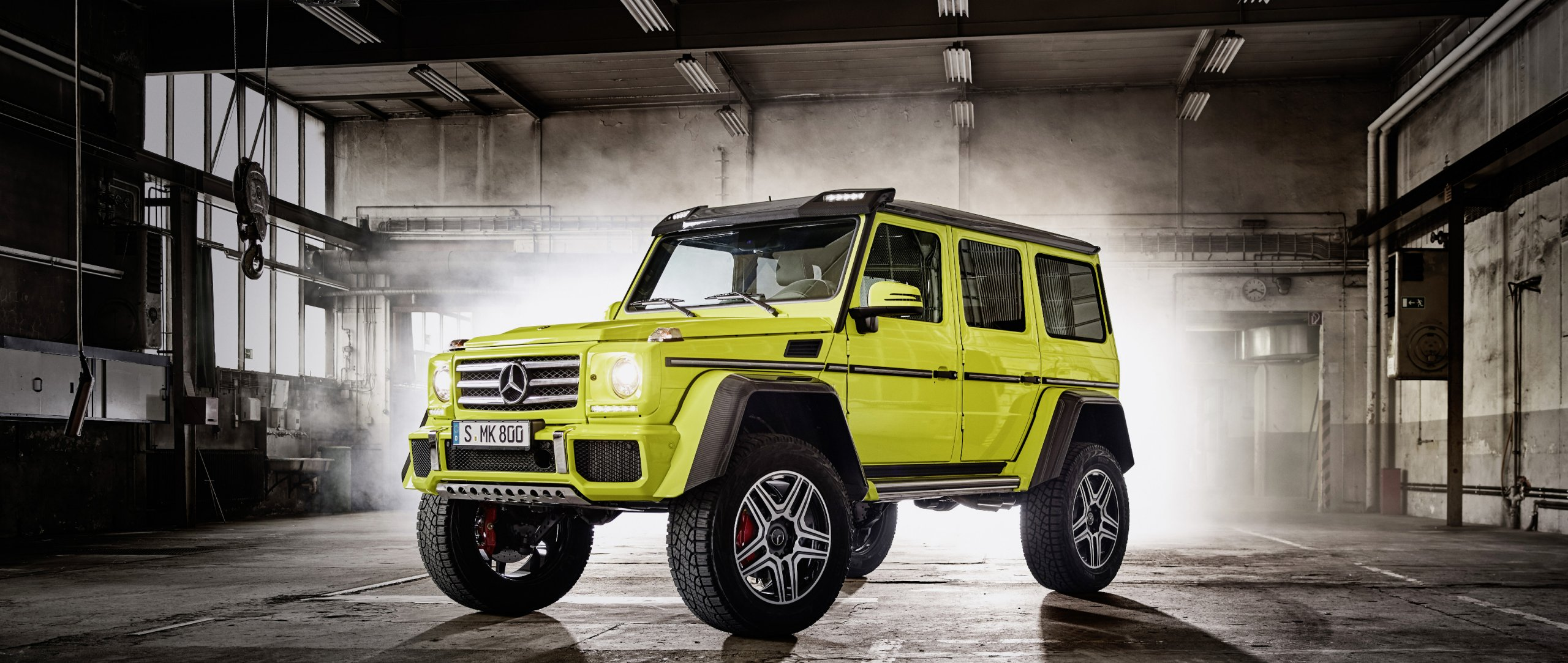The Mercedes Benz G Class G 500 4x4 G Class Squared