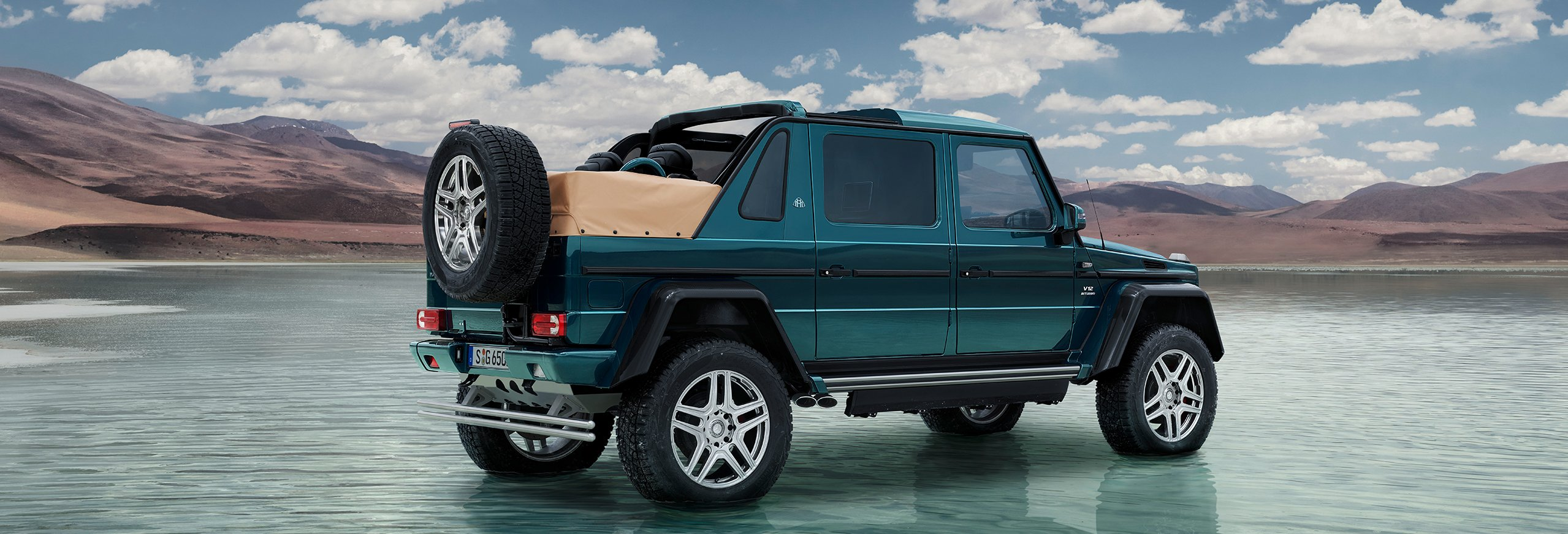 The New Mercedes Maybach G 650 Landaulet