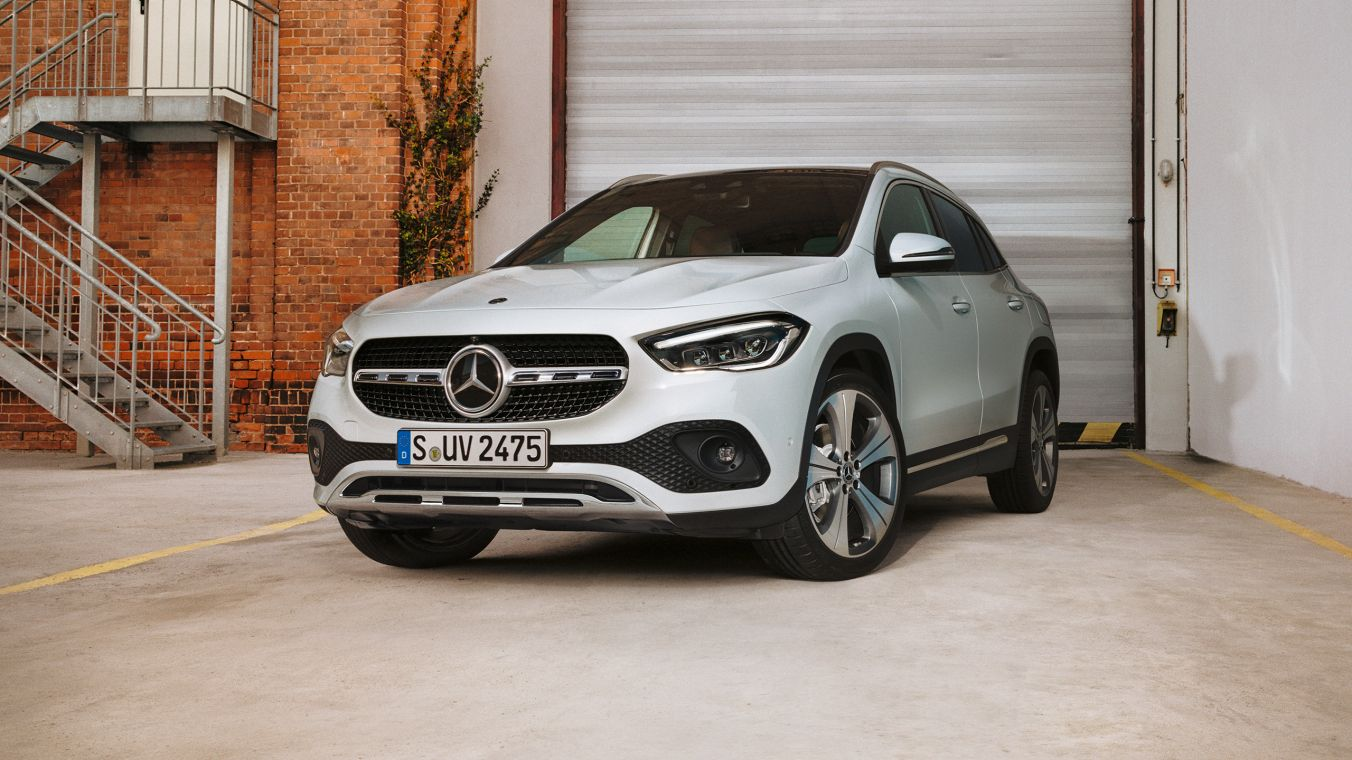 Mercedes Benz Gla Added Character Added Space Added Safety