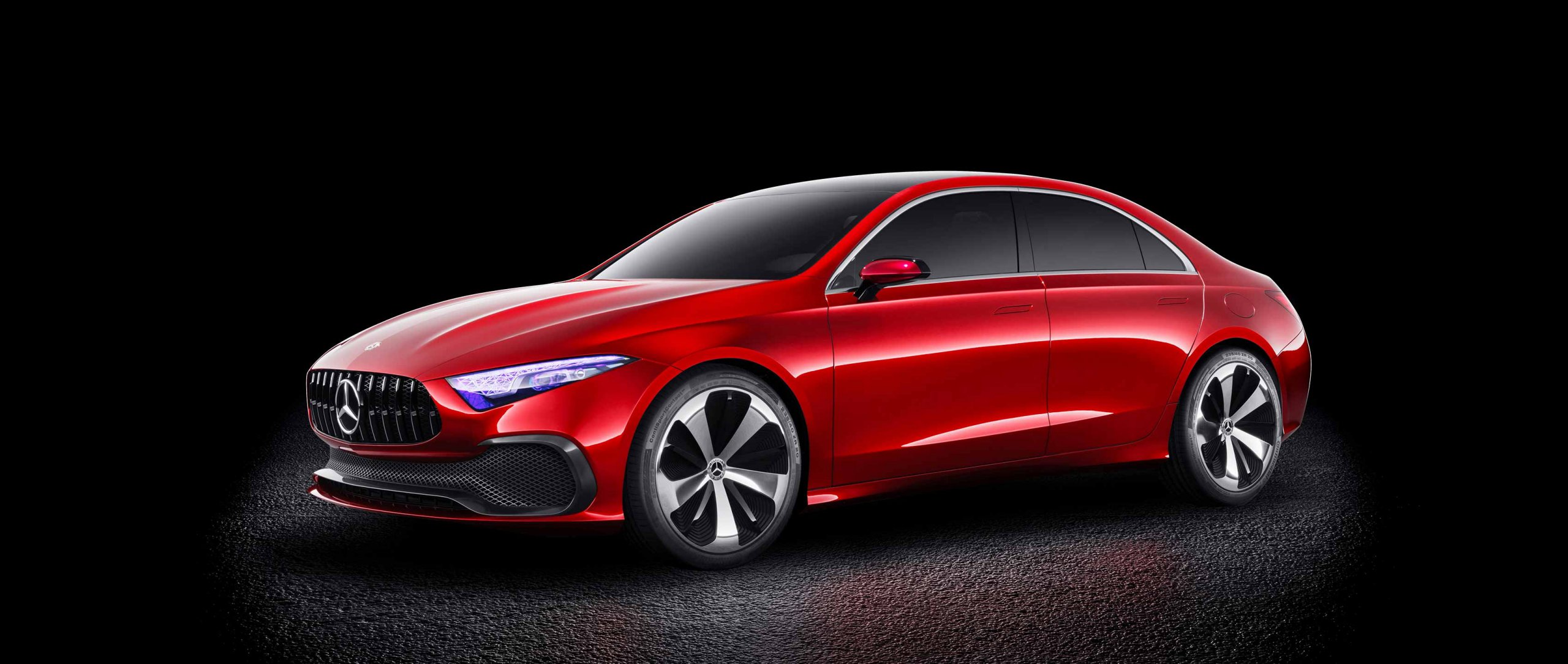 Mercedes-Benz Concept A Sedan – Herald of a new generation.