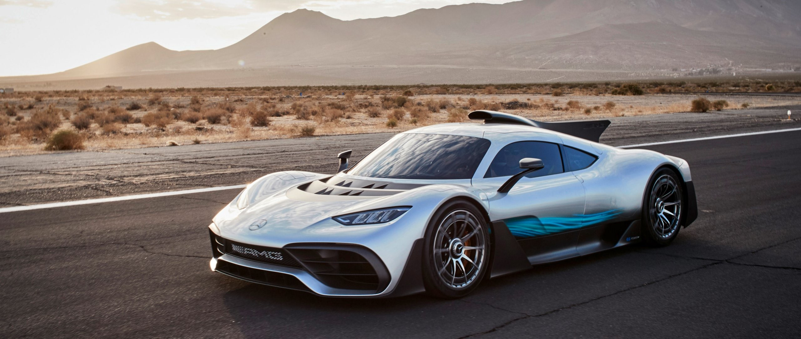 Mercedes-AMG Project ONE at Indian Wells Valley.