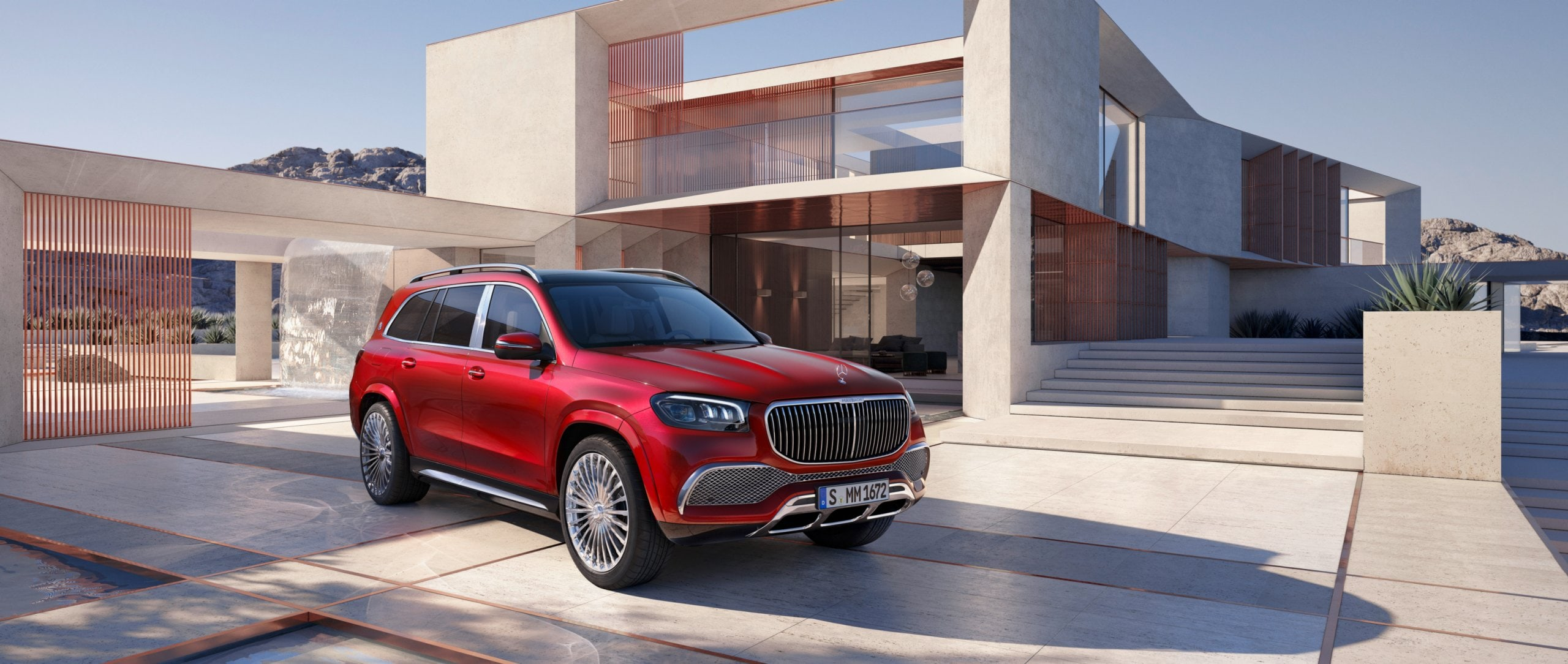 The New Mercedes Maybach Gls