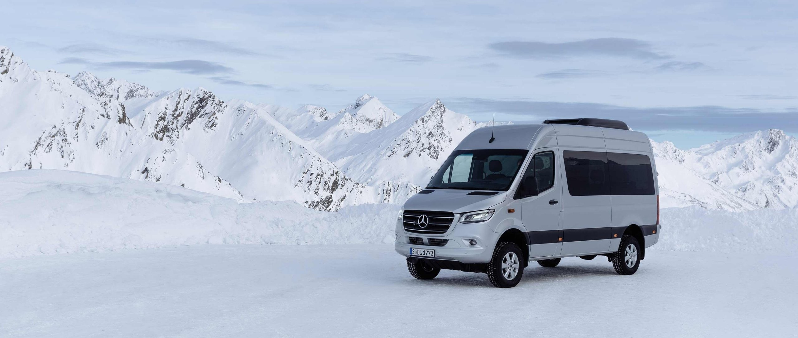 The New Sprinter 4x4 Composure In Rough Terrain