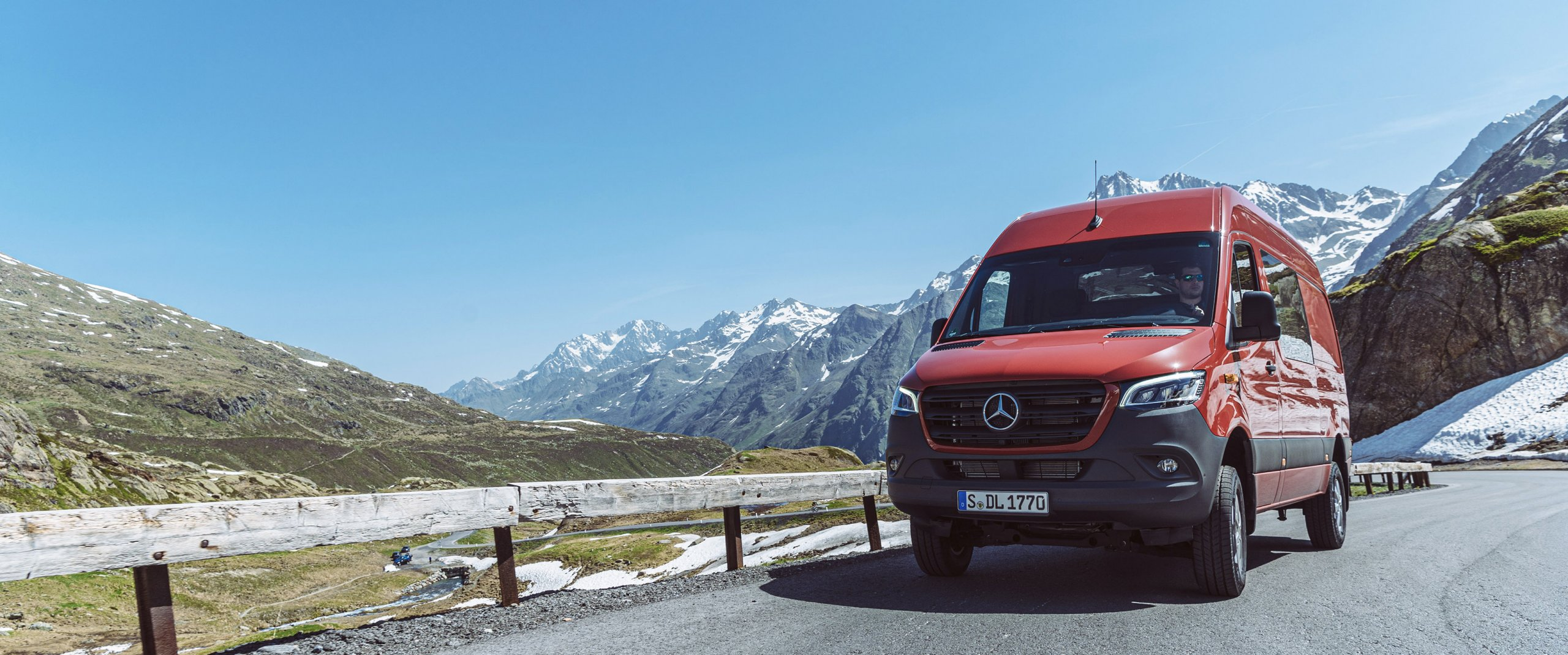 The New Mercedes Benz Sprinter 4x4 More Options Off Road